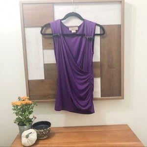 Michael Kors Purple Top